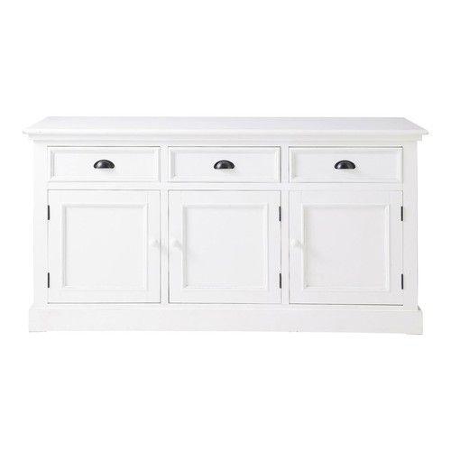 Credenza bianca in legno L 156 cm Maison Du Monde €399,90