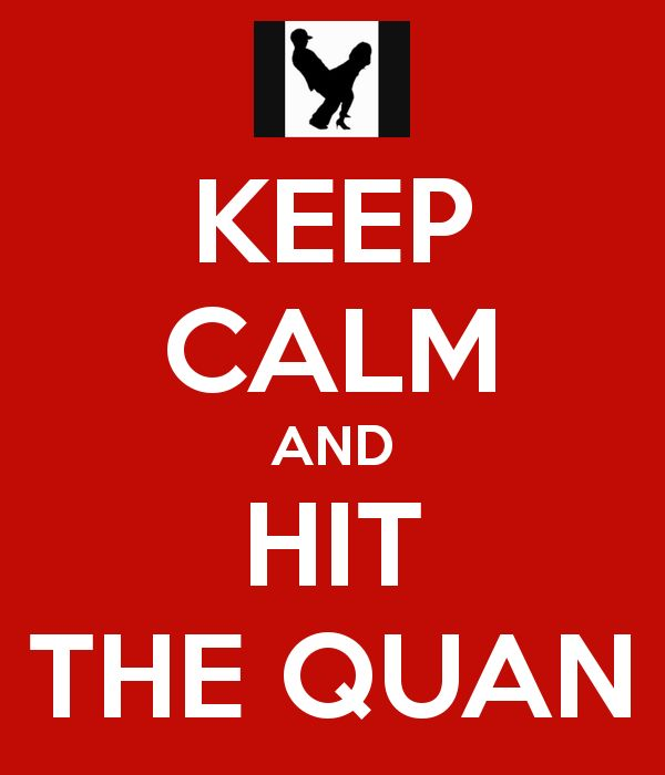 KEEP CALM AND HIT THE QUAN - KEEP CALM AND CARRY ON Image Generator