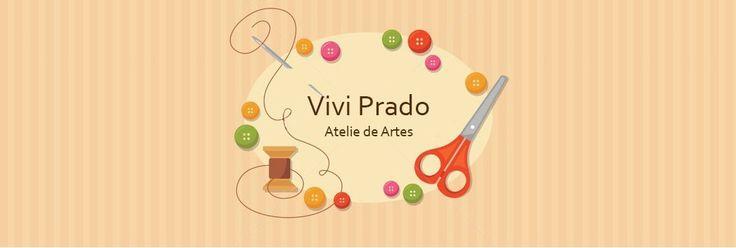 TV Eu que fiz por Vivi Prado - Vivi Prado Atelie de Artes