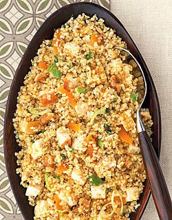 Since Quinoa is the trendy new healthy thing to make....5 Deliciously Healthy Quinoa Recipes!