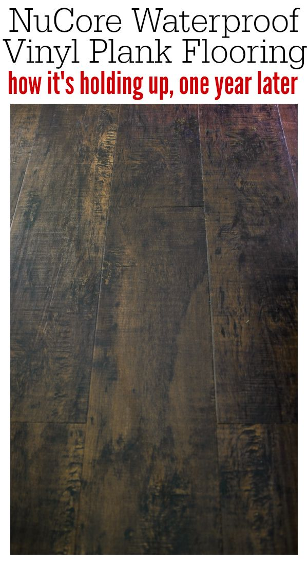 Nucore Flooring Review How It S Holding Up One Year Later Waterproof Vinyl Plank Flooring