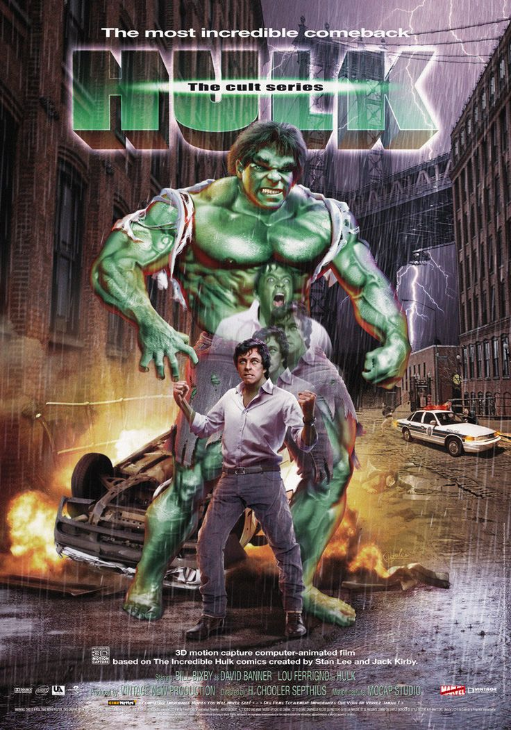 10 best Incredible Hulk TV show images on Pinterest | Hulk ...