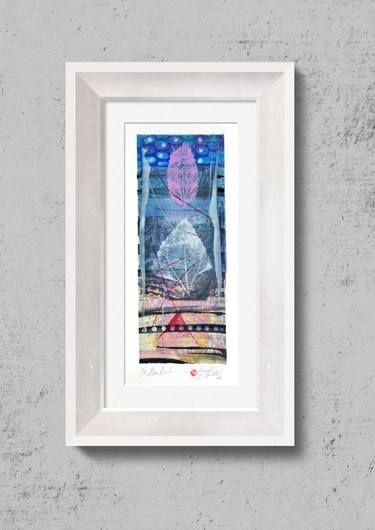 "Saatchi Art Artist Tezcan Bahar; Printmaking, ""Monotype - Limited Edition 1 of 1"" #art"