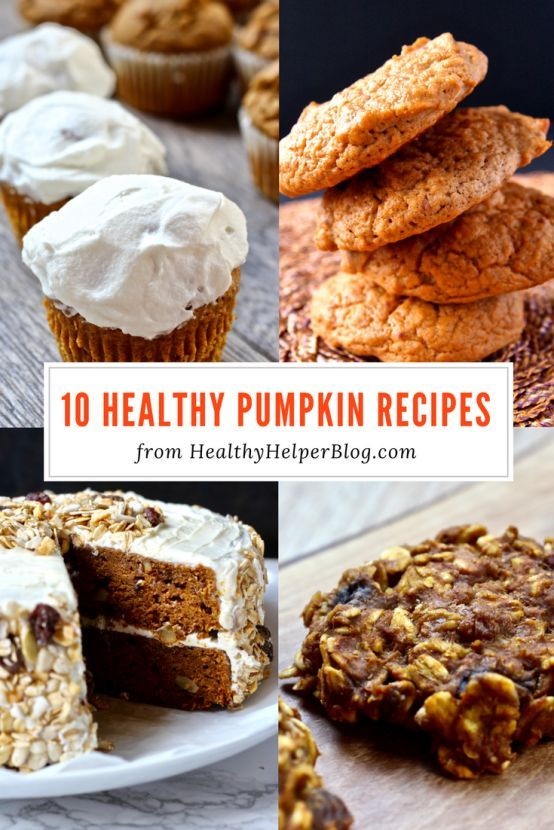 10 Healthy Pumpkin Recipes   Healthy Helper @Healthy_Helper Your go-to recipe guide to ALL THINGS PUMPKIN this fall! Healthy, delicious recipes filled with sweet, delicious, nutrient dense pumpkin to make all season long. Vegan, gluten-free, and paleo options for all! You won't miss anything of the pumpkin fun with these amazing snacks, breakfasts, and desserts.