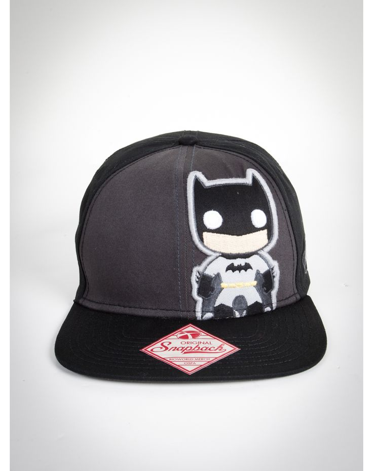 Batman Snapback Hat - WHY OH WHY DID I LOSE YOUUU :(
