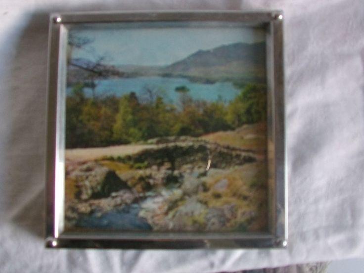 """""""Untersetzer englische Landschaft """" Vintage 60er von MajaSt auf DaWanda.com"""