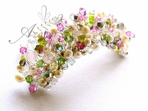 Gardens Crown by Pavoreal on Etsy, $200.00