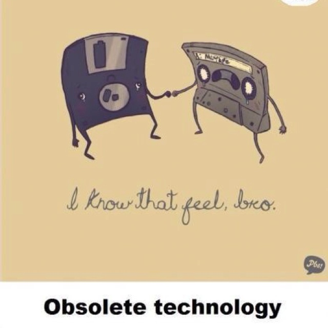 Quando la tecnologia diventa over! #ObsoleteTechnology #digitalculture #funny