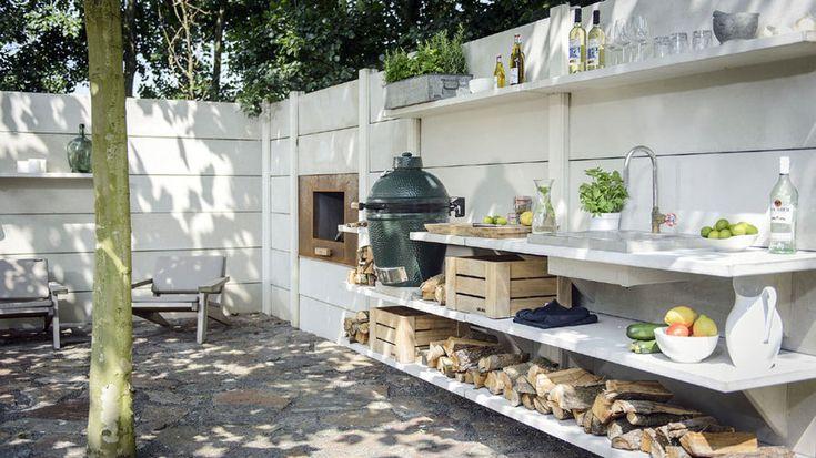 Outdoor Küche Rustikal : Outdoor küche rustikal und trotzdem gemütlich! tolle außenküche im