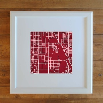 For all you OU fans... University of Oklahoma Campus Map Print- Fab.com  lots of maps