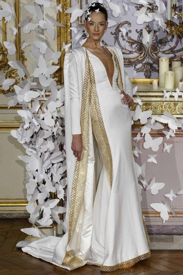 Vestido blanco on dorado development