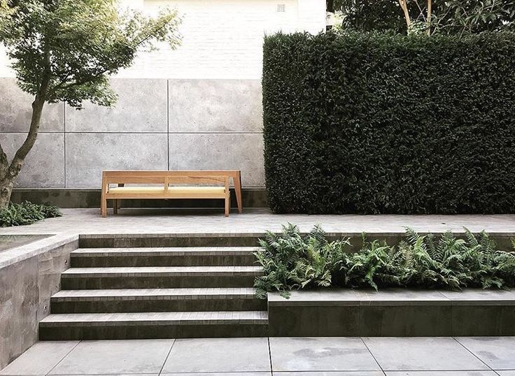 layered wall | hedge || Garden by Luciano Giubbilei in London, UK