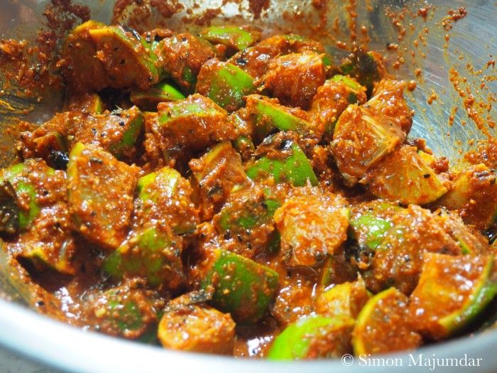 Fiery Hot Lime Pickle | Simon Majumdar - The most promising-looking of the Indian lime pickle recipes I found. Note that this is effectively a fermented food.