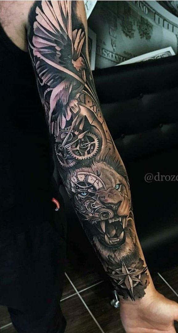 das Gesicht des Tigers oder besser eines Löwen