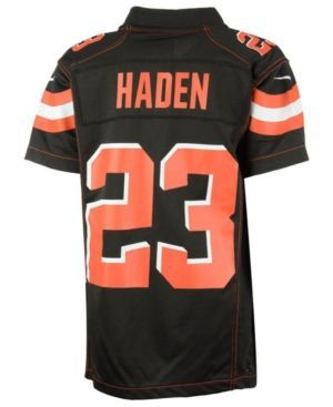 Nike Joe Haden Cleveland Browns Game Jersey, Toddler Boys (2T-4T) - Brown 3T