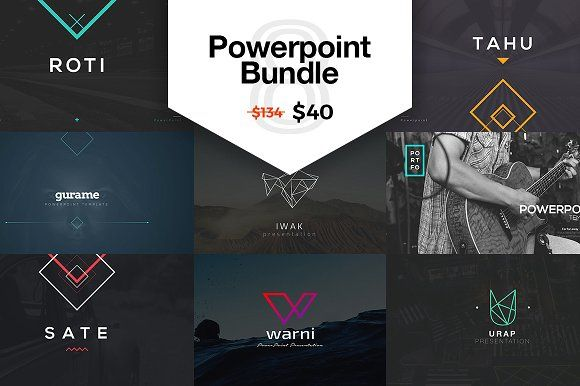 PowerPoint Bundle   SAVE 70% by Angkalimabelas on @creativemarket