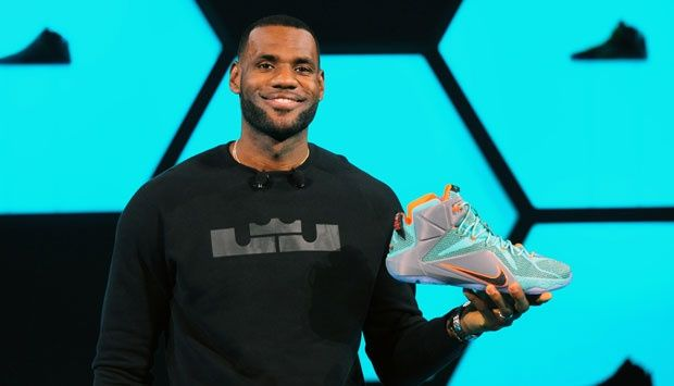 Nike Keluarkan Sepatu untuk LeBron James