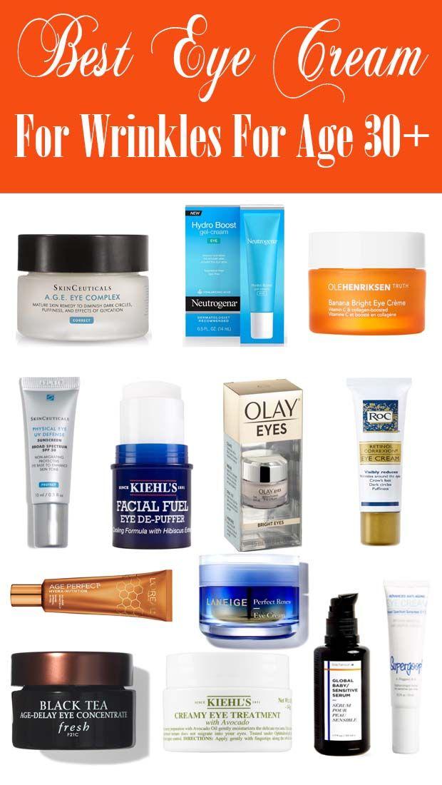 Best Eye Cream For Under Eye Wrinkles In 2020 Best Eye Cream Retinol Eye Cream Eye Cream For Dark Circles