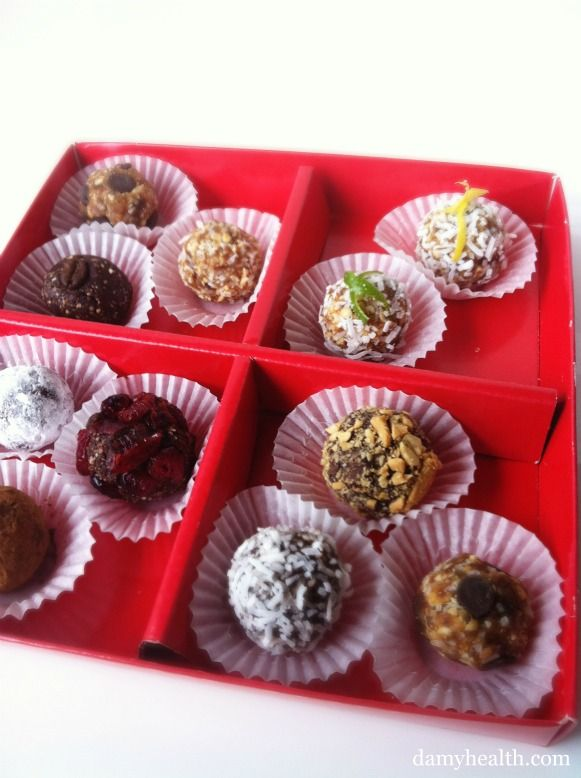 Healthy Truffles, Chocolates and Raw Cookies