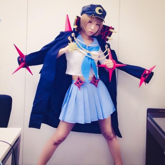 Fight club Mako from Kill La Kill