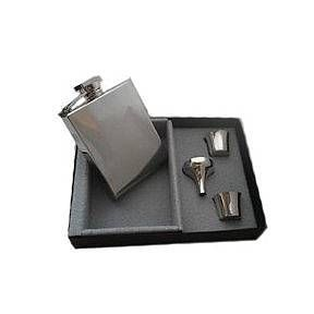 personalised deco hip flask by david-louis design | notonthehighstreet.com