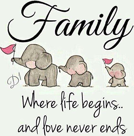 Mit der Gründung einer Familie beginnt ein neues Leben. Und die Liebe wird niemals enden.