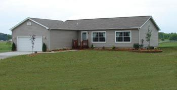 Here 39 s a nice 1500 sq ft modular home on a 9 39 basement for Modular homes with basement