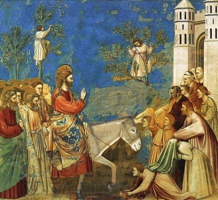 Customs of Palm Sunday and how to make a cross with palms.