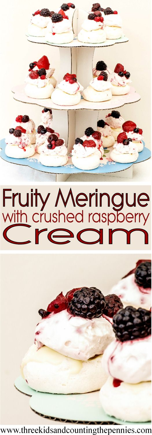 These wonderfully crunchy meringues make a stunning centrepiece. Show it off to friends and family!