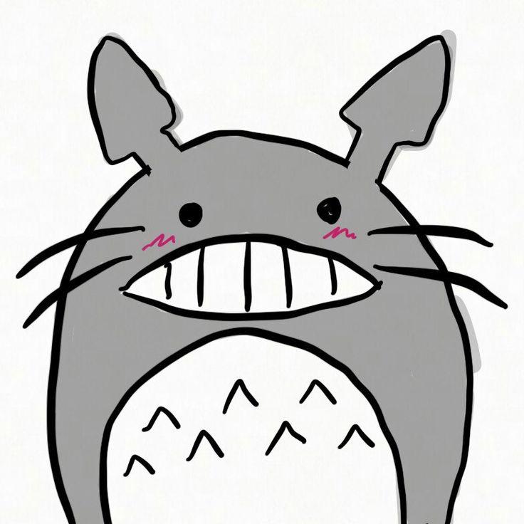 Totoro atttack! Hahahaaa