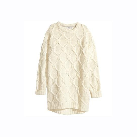 H&M cable-knit dress