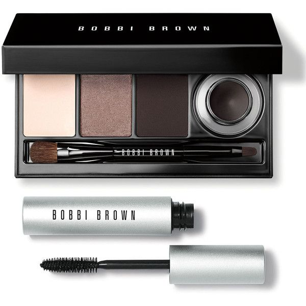 Bobbi Brown Coffee to Cocktails Eye Collection (265 ILS) ❤ liked on Polyvore featuring beauty products, makeup, eye makeup, fillers, beauty, brown combination, gel eye liner, long wear makeup, long wear gel eyeliner and bobbi brown cosmetics