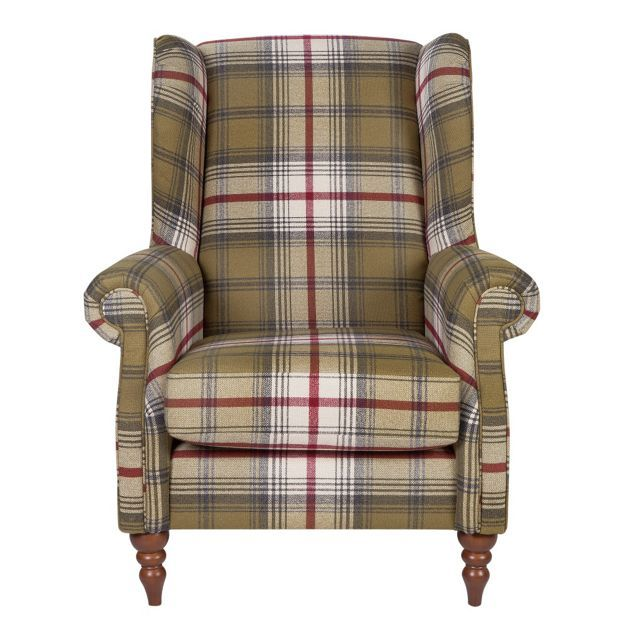 Buy Heart of House Argyll Fabric Chair - Autumn Tartan at Argos.co.uk, visit Argos.co.uk to shop online for Armchairs and chairs, Living room furniture, Home and garden