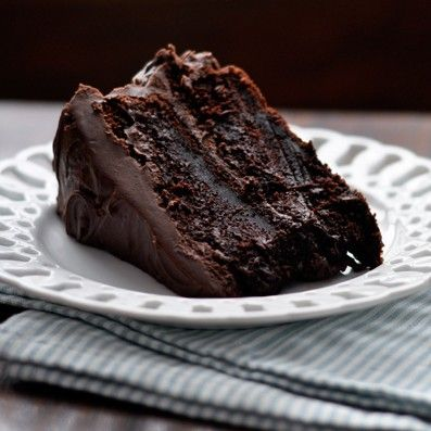This cocoa-based chocolate cake is deeply chocolatey and incredibly moist. Quite possibly the best chocolate cake recipe out there - and it is super easy!
