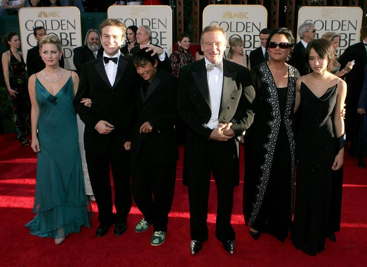 robin williams and kids | 62nd Annual Golden Globe Awards