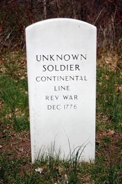 Unknown Continental Army Soldiers