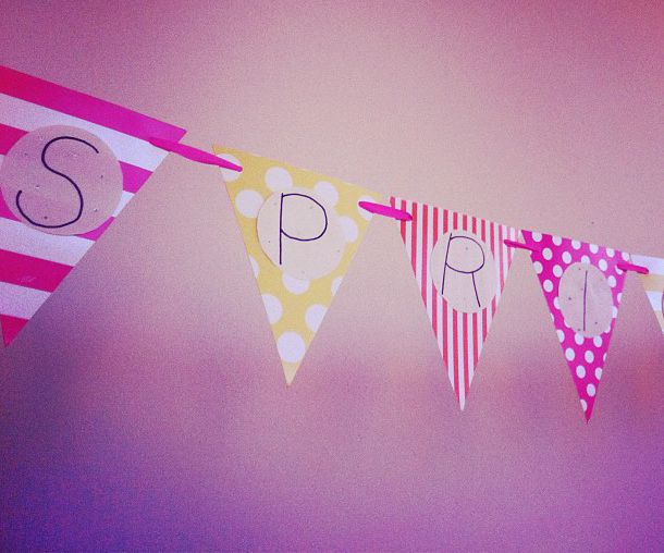 Decor and spring on pinterest for Spring dance decorations