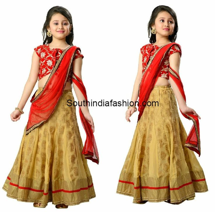 kids half sarees online