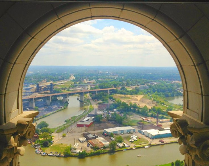 view from terminal tower, things to do in Cleveland, travel, tourism, cleveland