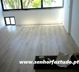 SENHOR FAZ TUDO - Faz tudo pelo seu lar !®: Colocação do pavimento flutuante no apartamento do...