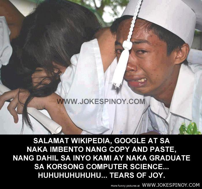 Salamat WikiPedia Google at Copy Paste | 100 Best Pinoy
