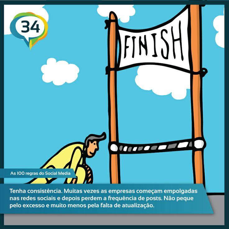 #As100RegrasdoSocialMedia #Regra34 #SocialLounge #Franquia