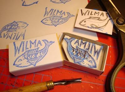 Stempeltje voor Wilma