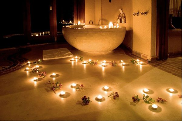 romantic bathtubs | romantic bath for two at simbambili game lodge