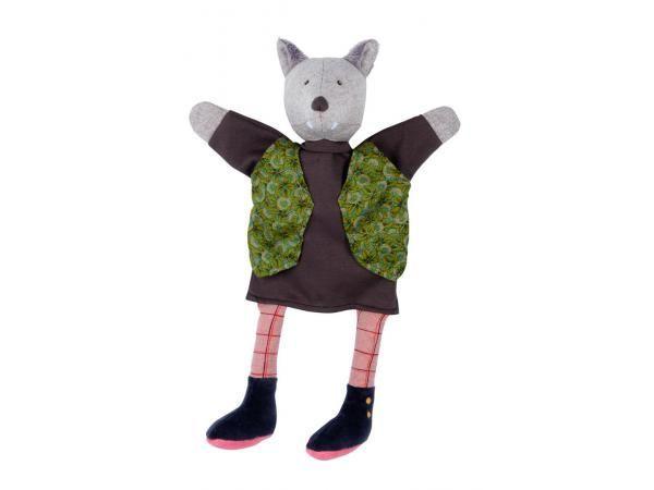 Moulin Roty - Marionnette loup Le gentleman Il était une fois #paris #baby #babygirl #babyboy #fashionkids #puériculture #bebe #bébé #maternité #listedenaissance #naissance #cadeaunaissance #futuremaman #grossesse #enceinte #jeu #jouet #enfant #activité #deco #kids #babyroom #moulinroty #loup #marionnette