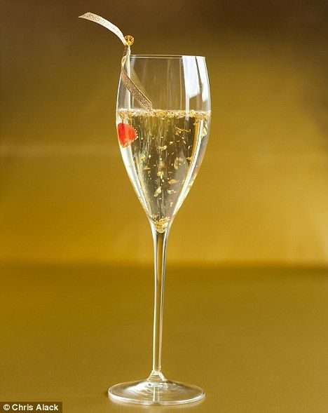 17 best images about signature drink on pinterest for Cocktails made with champagne