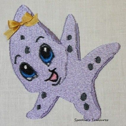 STE009_03  http://www.spookiestreasures.com/products/baby-sea-stars-4x4-2