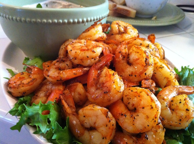Kramer's Roasted Shrimp!  Why are these NOT in my mouth?!!