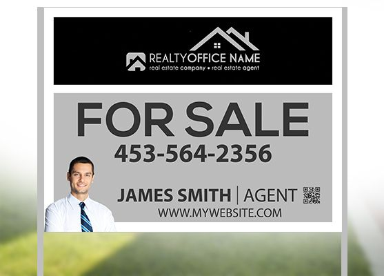 Real Estate Yard Signs | Real Estate Agent Signs | Real Estate Office Signs | Realtor Signs | Broker Signs | Real Estate Yard Sign Ideas | Real Estate Yard Sign Printing