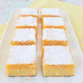 Lemon bars - Laura's Bakery